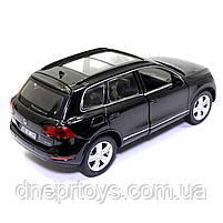Машинка металева Volkswagen «Автосвіт» Фольксваген джип чорний, світло, звук, 14*5*6 см (AS-2716), фото 4