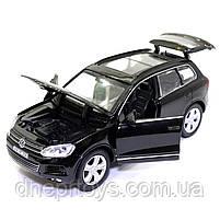 Машинка металева Volkswagen «Автосвіт» Фольксваген джип чорний, світло, звук, 14*5*6 см (AS-2716), фото 5