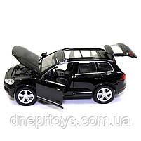 Машинка металева Volkswagen «Автосвіт» Фольксваген джип чорний, світло, звук, 14*5*6 см (AS-2716), фото 6