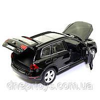 Машинка металева Volkswagen «Автосвіт» Фольксваген джип чорний, світло, звук, 14*5*6 см (AS-2716), фото 7