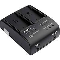 Зарядное устройство SWIT S-3602F Dual Charger/Adapter for Sony NP-F970/770/960/950 Batteries (S-3602F)