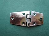 Нержавіюча шарнірна петля, асиметрична (товщина 2 мм)., фото 7