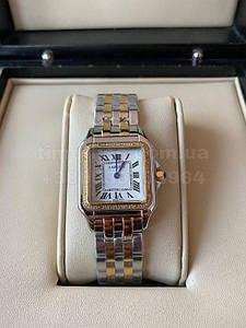 Жіночі наручні годинники Картьє (репліка) Пантера Даймондс 26 мм копія