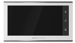 IP відеодомофон ARNY AVD-730A 2MPX WiFi з пам'яттю, детектором руху та IPS екраном (white)