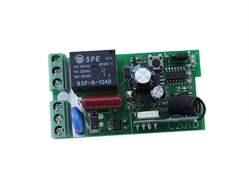 1-канальний бездротовий реле 220В 433МГц, пульт, Arduino