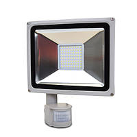 LED-прожектор Lightwell LW-50W-220PIR з датчиком руху