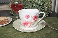 Чашка с блюдцем MARY ROSE