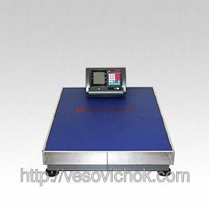 Товарные весы ВПЕ 102D_600 кг (600х800мм)