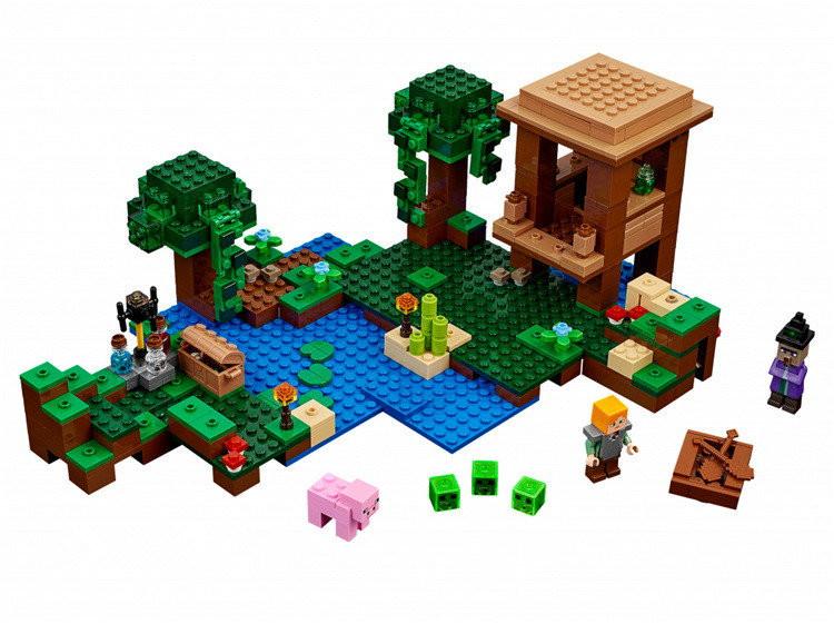 """Конструктор майнкрафт BELA Minecraft """"Хатина відьми"""" 508 деталей"""