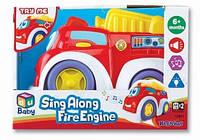 Детская пожарная машинка музыкальная, K12841,  Keenway /Ю