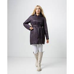 Якісна жіноча демісезонна куртка з поясом