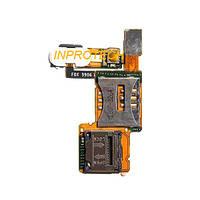 Шлейф Sony Ericsson C902 с SIM коннекторами