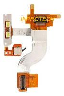 Шлейф Sony Ericsson K750 с коннектором камеры и компонентами