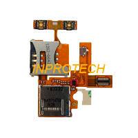 Шлейф Sony Ericsson W380 с sim коннекторами