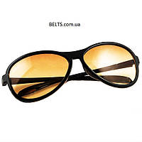 Солнцезащитные антибликовые очки для водителей Smart View Elite (набор водительских очков Смарт Вью Элит, 2 шт