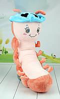 Мягкая игрушка гусеничка, 70 см., фото 1