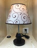 Лампа настольная c абажуром MT 2013