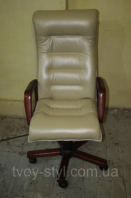 Пертяжка кресла в кожу днепропетровск