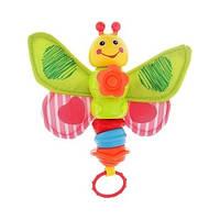 Погремушка музыкальная Озорная бабочка 0956