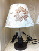 Лампа настольная c абажуром MT 2038