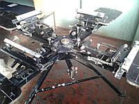 Шелкотрафаретный станок оборудование б у 4*4
