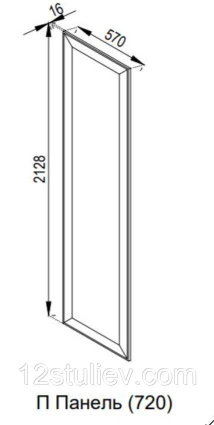 Панель для пенала (h-720) Марго