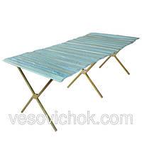 Торговый стол раскладной 1,5м (квадрат 20 мм)