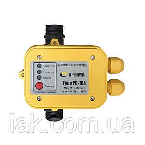 Захист сухого ходу Optima PC10A з автоматичним перезапуском