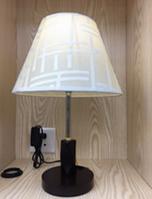 Лампа настольная c абажуром MT 2026 WT