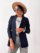 Піджак жіночий з довгими рукавами, фото 4