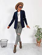 Піджак жіночий з довгими рукавами, фото 5