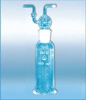 Склянки для промывания и очистки газов Дрекселя 250мл, фото 1