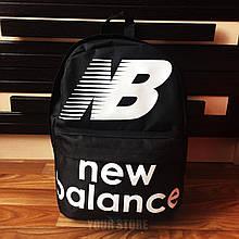 Чоловічий спортивний рюкзак New Balance чорний