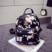 Жіночий маленький рюкзак екошкіра