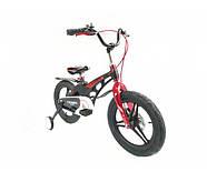 """Двоколісний велосипед Crosser Premium магнієва рама 16"""" Чорний (n-612), фото 4"""