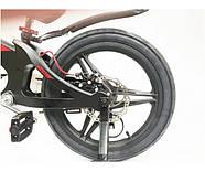 """Двоколісний велосипед Crosser Premium магнієва рама 16"""" Чорний (n-612), фото 5"""
