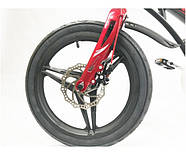 """Двоколісний велосипед Crosser Premium магнієва рама 16"""" Чорний (n-612), фото 6"""
