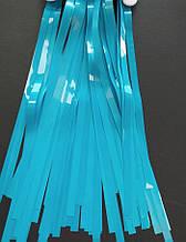 Фольгована шторка бірюзовий 1,2*3 метри