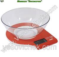 Кухонные весы Magio MG-294 (Красный)