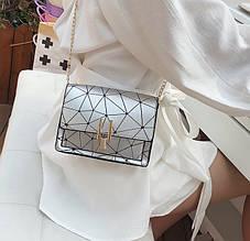 Модная женская мини сумочка клатч сумка