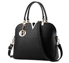 Стильна жіноча сумка сумочка ПУ шкіра