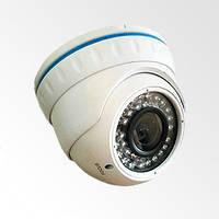 VLC-4192DFT HD-TVI уличная купольная видеокамера c вариофокальным объективом.
