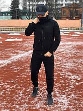 Спортивный мужской костюм Puma копия черный