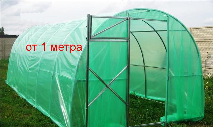 Пленка тепличная зеленая 3 метра ширина, 1,5 м рукав, 150 мкм толщина