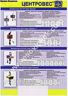 Крановые весы с передачей данных по радиоканалу OCS-RР-10t