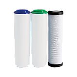 Улучшенный комплект картриджей Ecosoft для тройного фильтра, фото 4