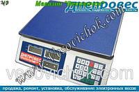 Торговые весы Днепровес F902H-ЖК (35 кг)
