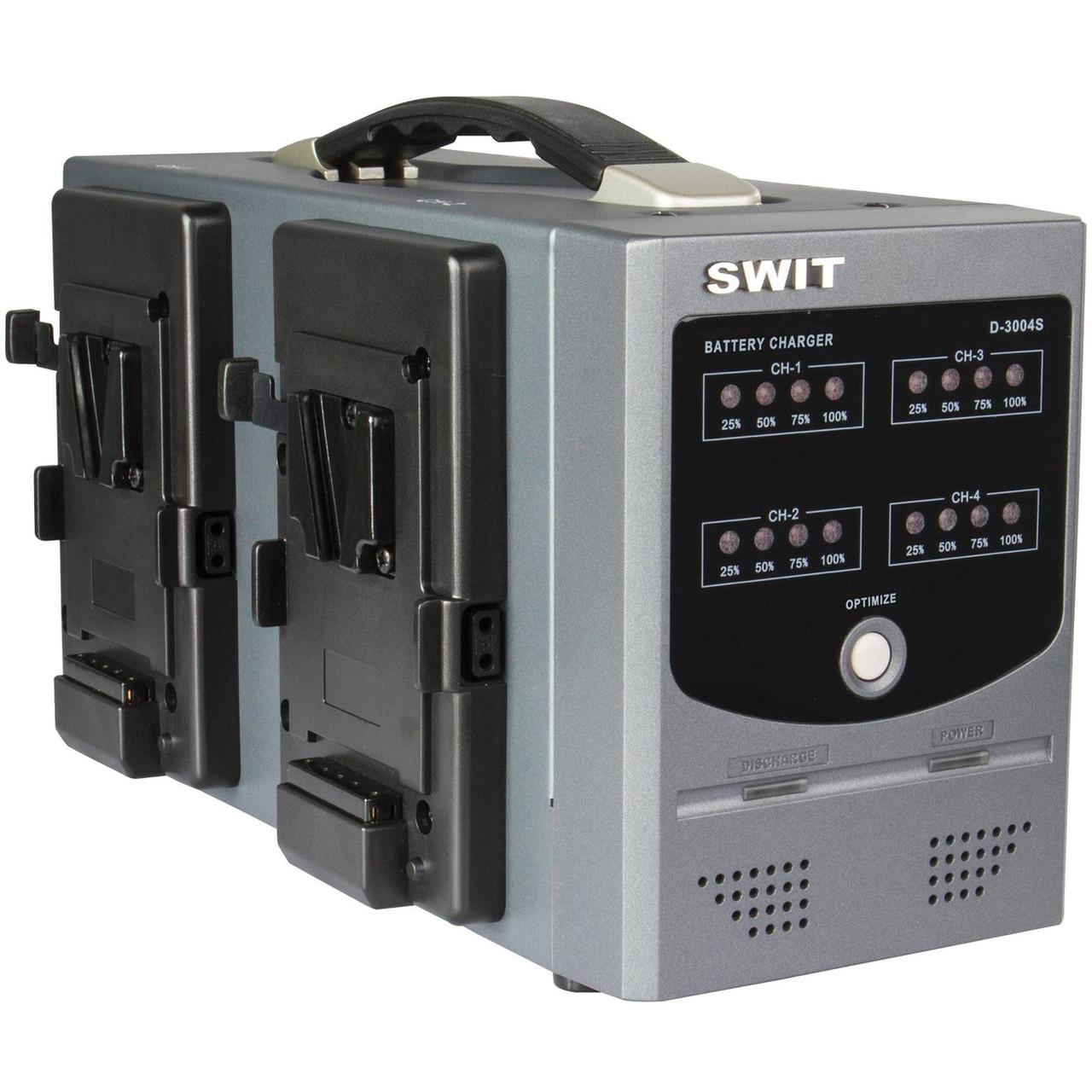 Зарядное устройство SWIT D-3004S V-Mount Charger for V-Mount Batteries (4-Channel) (D-3004S)