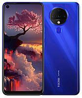 Смартфон TECNO Spark 6 (KE7) 4/64GB Ocean - Синій (Blue). ОФІЦІЙНА ГАРАНТІЯ 13 МІСЯЦІВ !!!, фото 1
