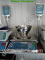 Весы торговые  Днепровес F902H-15ECS (15кг)